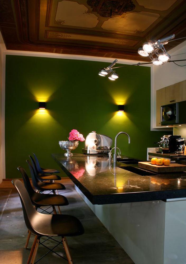 Duell Wall und Nomad von Modular Designklassiker zur Küchenbeleuchtung