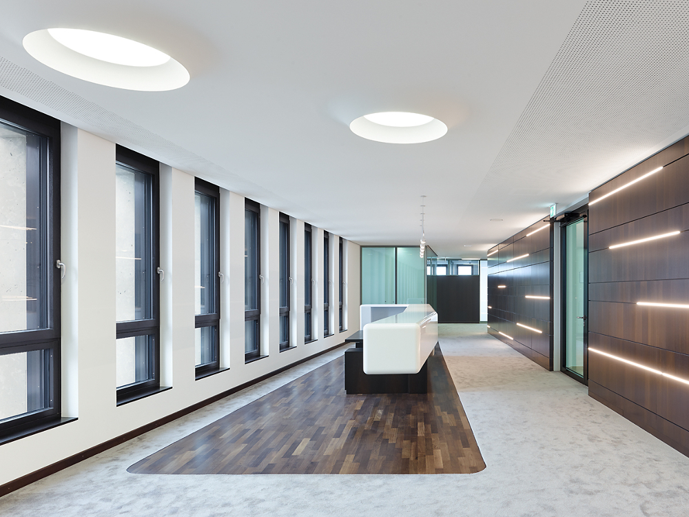 Heilbronner Bankhaus Vorstandsetage Viabizzuno Deutschland campana brembana