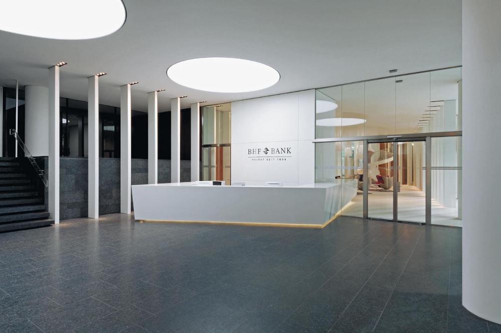 BHF Bank Frankfurt Viabizzuno Sonderleuchten Deutschland Trieschmann GmbH