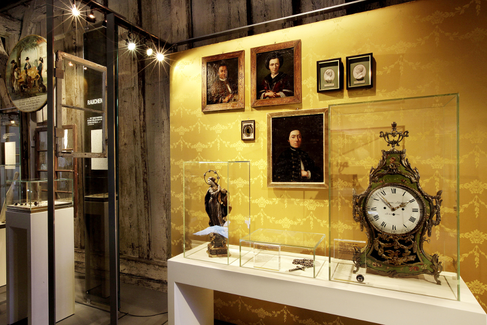 Museum Humpis Quartier Ravensburg Beleuchtung der Ausstellung
