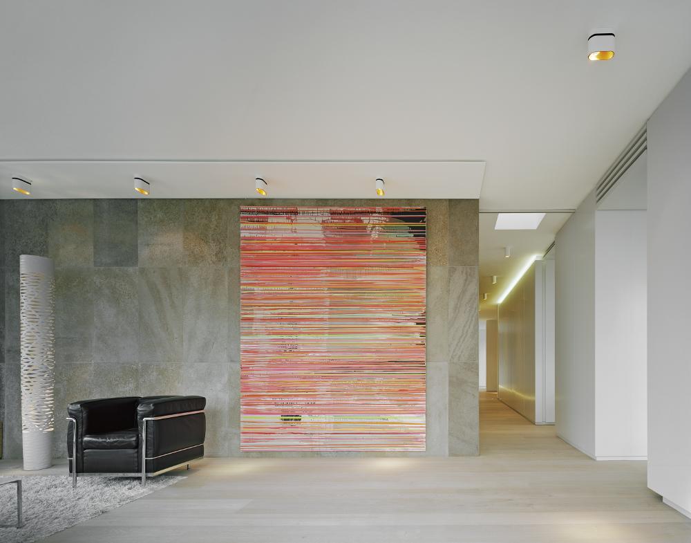 s43 wittfoht architekten Stuttgart Deckenbeleuchtung mit Duell Surface Leuchten von Modular
