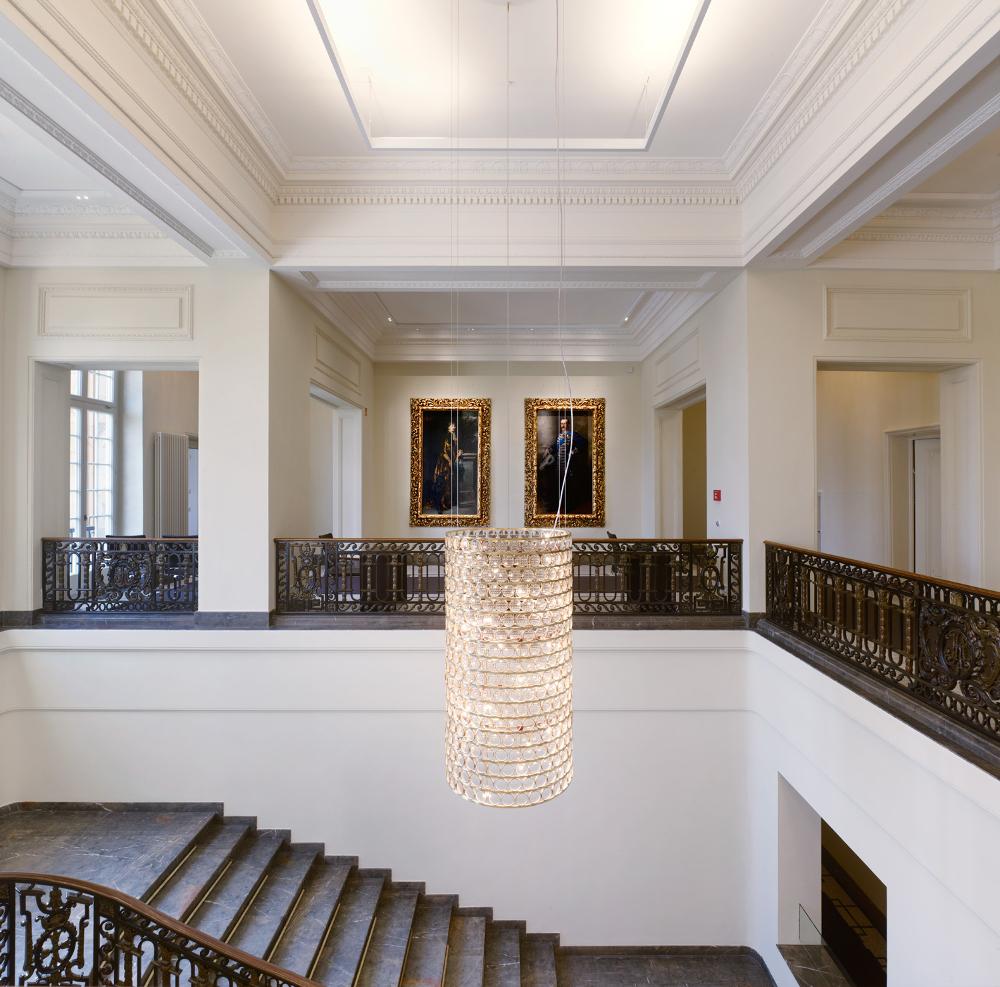 Villa Reitzenstein Kronleuchter da ma Viabizzuno